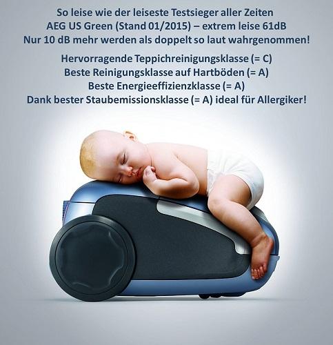 AEG UltraSilencer USENERGY+Beschreibung