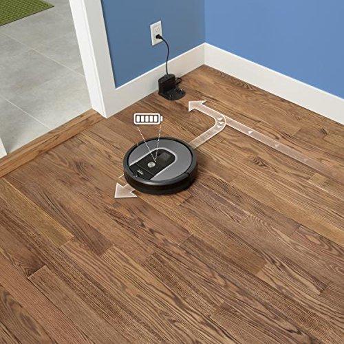 iRobot Roomba 960 Auflade Beispiel