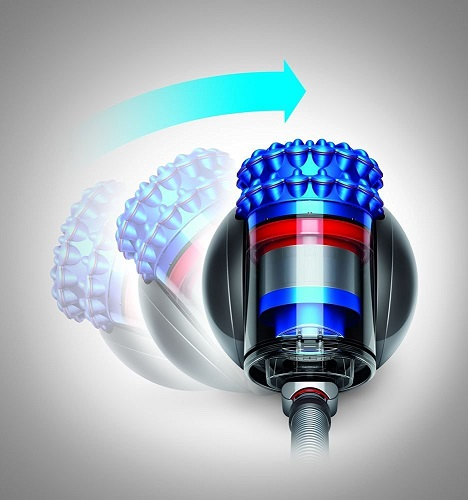Dyson Cinetic Big Ball Musclehead ist flexibel in der Bewegung
