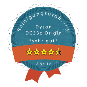 Dyson DC33c Origin Wertung