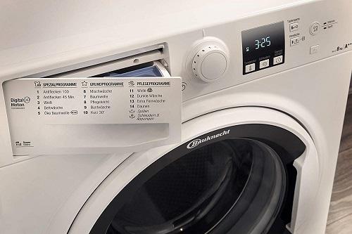 Bauknecht WA Soft 8F41 Waschprogramme