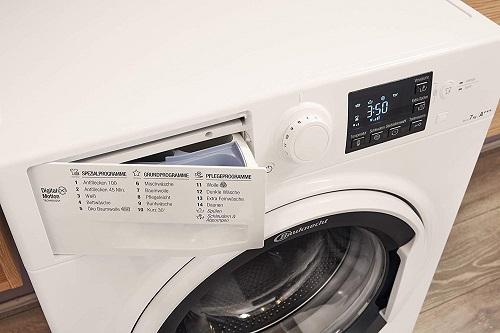 Bauknecht WM Pure 7G41 Waschprogramme