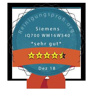 Siemens-iQ700-WM16W540-Wertung