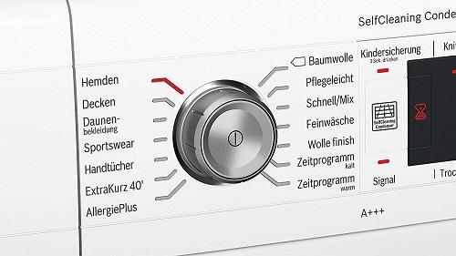 Bosch WTW875W0 Serie 8 Programme