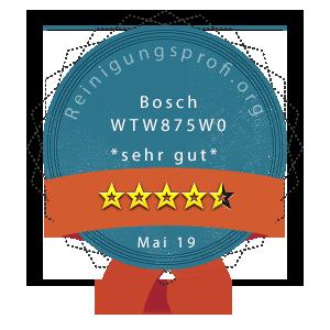 Bosch-WTW875W0-Wertung