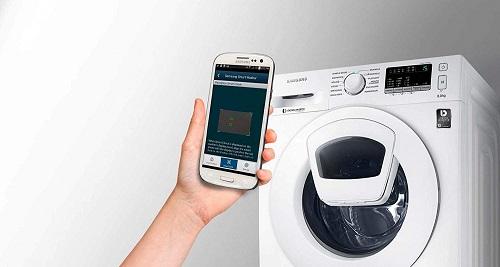 Samsung WW70K4420YW über Handy steuerbar